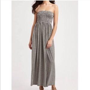 Tory Burch Dresses - TORY BURCH Minta Casual Maxi Dress Blue